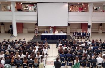 Az ELTE Természettudományi Karának ünnepélyes diplomaátadó eseménye