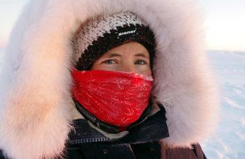 Aeroszolkutató az Antarktiszon