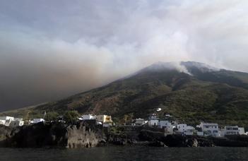 Mi történt a Stromboli vulkánon?