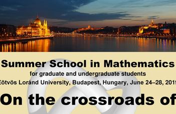 The Institute of Mathematics is pleased to announce its regular one week long summer school.