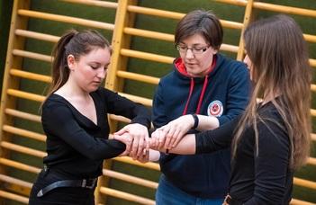 Női önvédelmi tréning