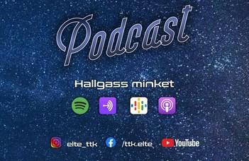 A természettudományok népszerűsítése érdekében csütörtök esténként podcast adással jelentkezünk.