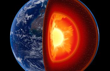 Szivárog a földmag, ami a felszínre jut