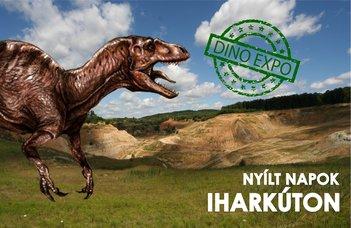 A dinoszauruszok kutatásához kapcsolódó egész napos szabadidős és kulturális programok Iharkúton.