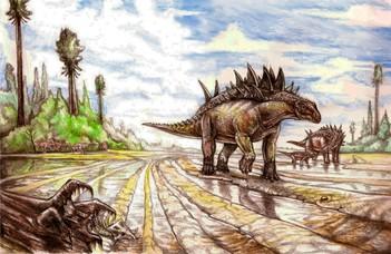 A szociális távolság megtartására már a dinoszauruszok is ügyeltek
