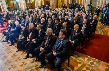 ELTE-s kitüntetettek a nemzeti ünnep alkalmából